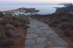 walking to Faros