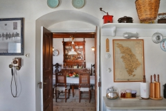 from kitchen to dining room