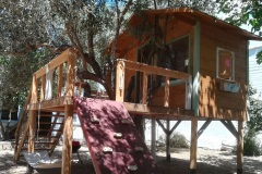 tree house front east